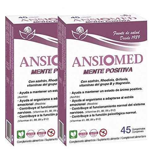 ANSIOMED MENTE POSITIVA - BIOSERUM - 1 UNIDAD (45 CÁPS) - ANSIOMED MENTE POSITIVA 45 CÁPSULAS - BIOSERUM (1): Amazon.es: Salud y cuidado personal
