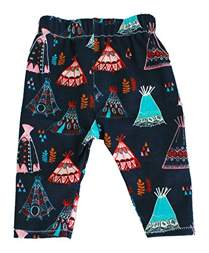 Organic Cotton Navy Teepee Pants by Soren + Luca