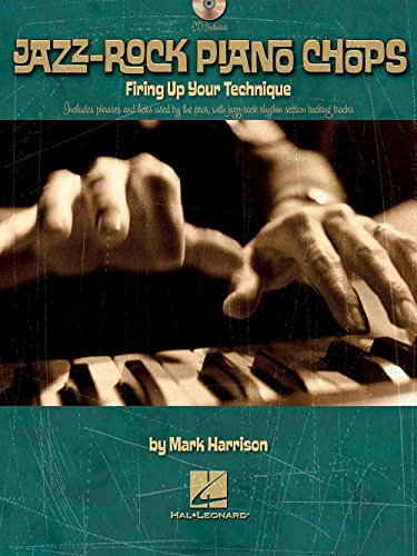 - Hal Leonard Jazz-Rock Piano Chops - Firing Up Your Technique Book/CD