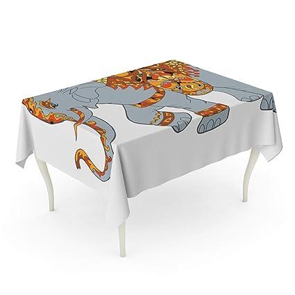 Amazon.com: Tarolo Rectangle Tablecloth 60 x 84 Inch Adult ...
