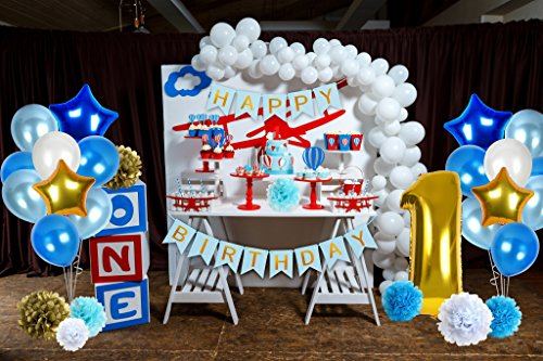 Treasures Gifted First Birthday Decorations For Boys Soccer Or Baseball Party Supplies Little Man 1st Bday