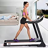 Acazon 3.0HP Folding Electric Treadmill 10.1' WIFI Color Touch Screen Fitness Treadmill Walking Running Machine US STOCK