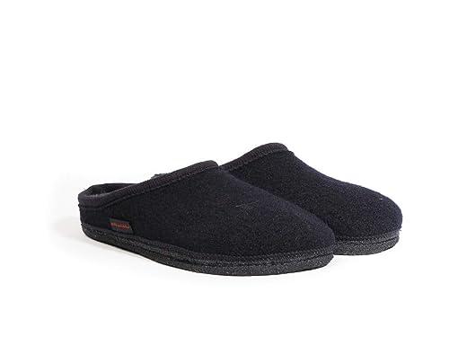Kitz-Pichler (KITZ5) Biofit - Zapatillas de Estar por casa de Lana para Hombre Azul Azul, Color Azul, Talla 43: Amazon.es: Zapatos y complementos