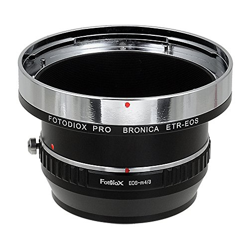 Fotodiox Pro Lens Adapters, Bronica ETR Lenses to MFT Mirrorless Cameras (i.e. Lumix GH4 & BMPCC)