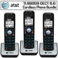 AT&T TL86009 DECT 6.0 Accessory Handset 3-Pack