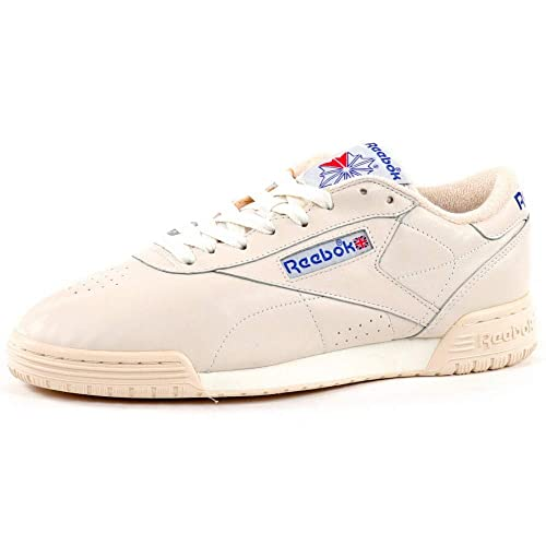 e61346a34405 Reebok Exofit Lo Clean Vintage Chalk Sneakers  Amazon.co.uk  Shoes   Bags
