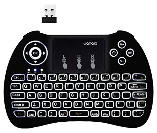 YAGALA Wireless Keyboard Touchpad Multi media
