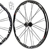 Brand: Stars-Circle Fit Tire Size: 700cx19c to 28c Applications: 16 Tooth Fixed Gear or 16 Tooth Freewheel (Fixed gear and freewheel are included) Decals: Could be removed by hand Weight: Front: 1000g or 2.2 lbs; Rear: 1235g or 2.7 lbs Rims Material:...