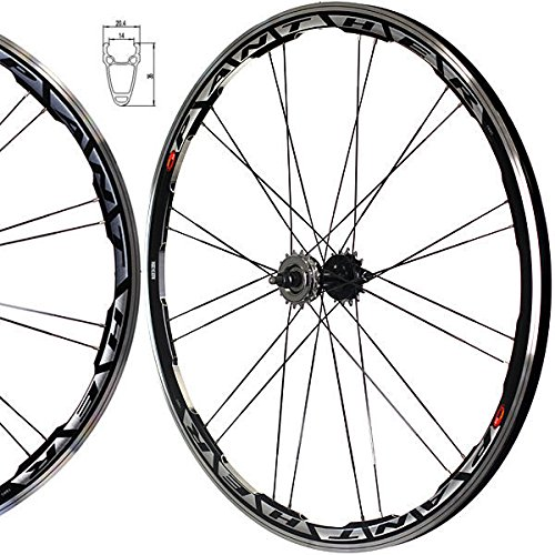Single Speed Rims (Fixie Freewheel Single Speed Wheel Wheelset Black)