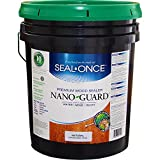 Seal Once 3111 premixed Nano Guard Premium Wood Sealer Natural 5-gallon