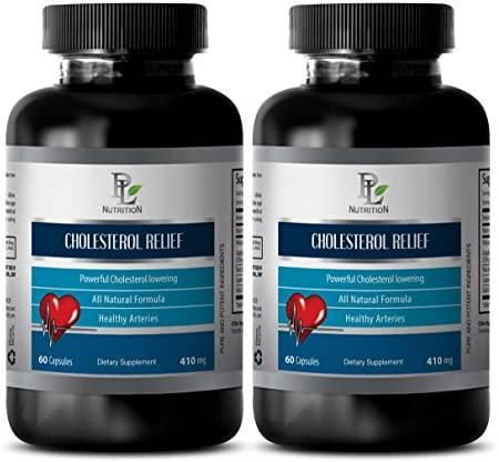 Cholesterol Reduction Complex – Cholesterol Relief – Blood Health – 2 Bottles 120 Capsules