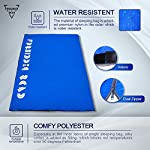 Forbidden Road 380T Nylon Portable Sleeping Bag Single 1560 5 Colors Lightweight Water Resistent Envelope For Man Woman Camping Hiking Backpacking Blue Nylon 15 60