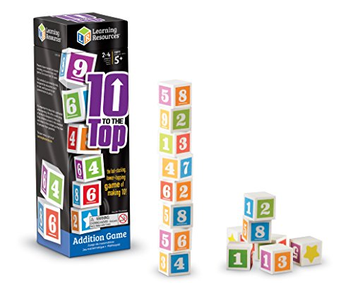 - Learning Resources 10 to The Top Addition Game