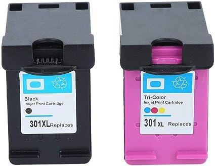 FISOUL - Cartucho de Tinta no OEM para HP 301 HP 301 XL Deskjet 1050 2050: Amazon.es: Oficina y papelería