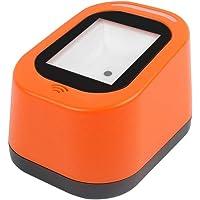 Honeytecs Wired Barcode Scanner USB Versatile Scanning Hands-Free Scan QR Code 1D&2D Code Reader for Supermarkets/Stores…