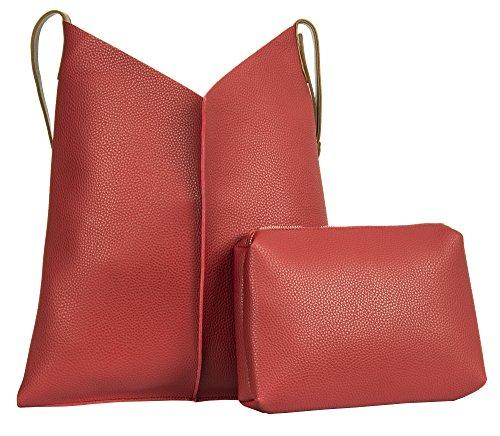 Pour Handbag Rouge Big Shop Sac L'épaule À Femme Porter qOFZTtw