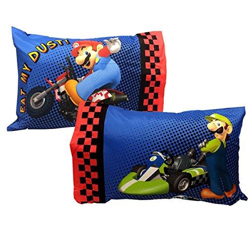 Super Mario Kart Set Pillowcases