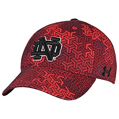 Under Armour Notre Dame Fighting Irish Youth Signal Caller HeatGear Adj Hat Cap by Under Armour