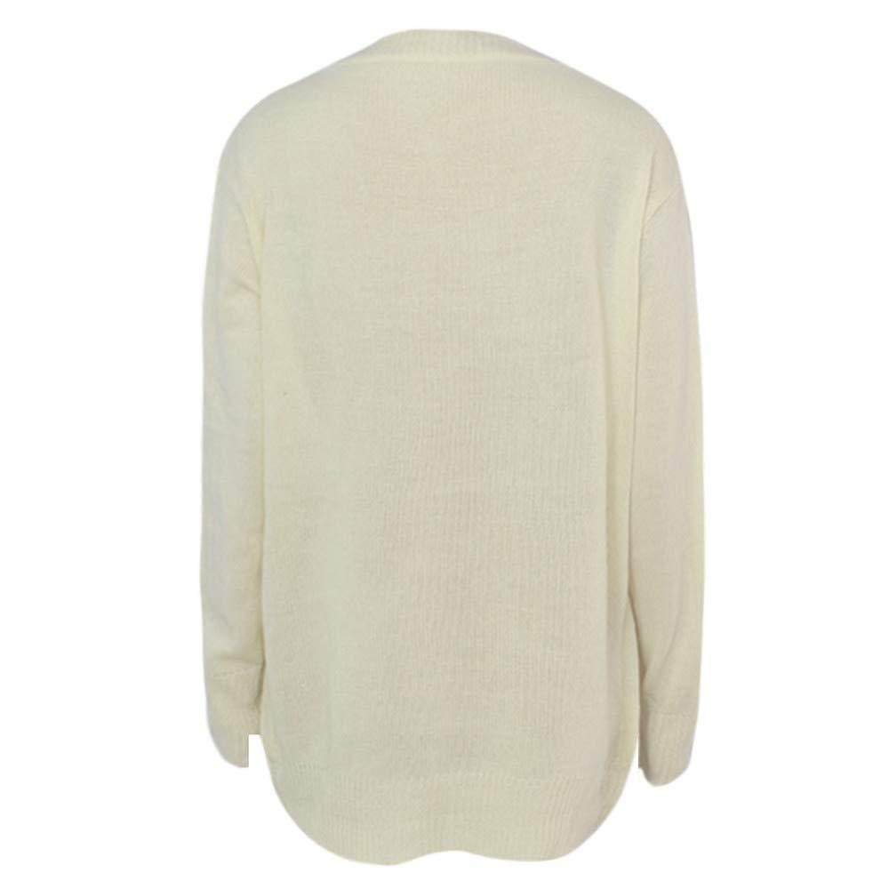 Blusas con Cuello en V de Mujer,SunGren Camisetas de Manga Larga con Capucha Sudaderas con Capucha Tops Sueltos: Amazon.es: Ropa y accesorios