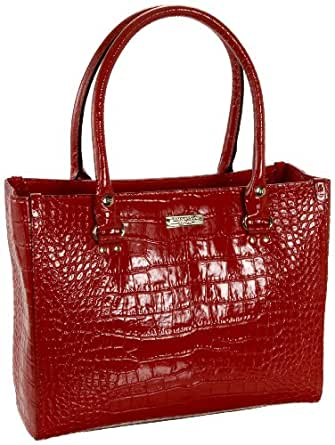 Kate Spade Knightsbridge Quinn Tote,Fire Engine Red,one size