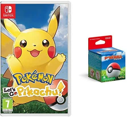 Pokémon: Lets Go, Pikachu! & Poké Ball Plus: Amazon.es: Videojuegos