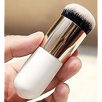 Brain Freezer Women's J Artificial Persian Hair Face Powder/Blush Brush (White, MAKEUPFACEPOWDERBRUSHWHITE_1)