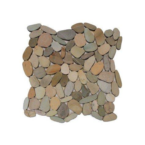 Botany Bay Pebbles Mosaic Sliced - Botany Stores