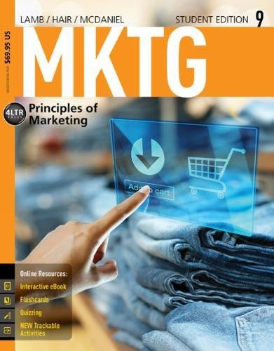 MKTG 9 (with Online, 1 term (6 months) Printed Access Card) (New, Engaging Titles from 4LTR Press)
