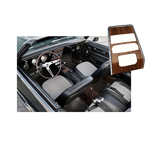 (Eckler's Premier Quality Products 33-179181 Camaro Dash Panel, Center, Deluxe Woodgrain, For Cars Without Air Conditioning,)