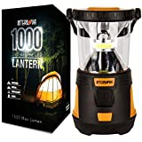 LED Camping Lantern - Internova 1000 LED Camping Lantern - Massive Brightness with Fully Adjustable 360 Arc Lighting - Emergency - Backpacking - Construction - Hiking - Auto - Home - College (Cadmium Orange)