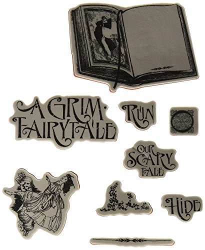 - Graphic 45 Cling Stamp, Grim Fairytale 1