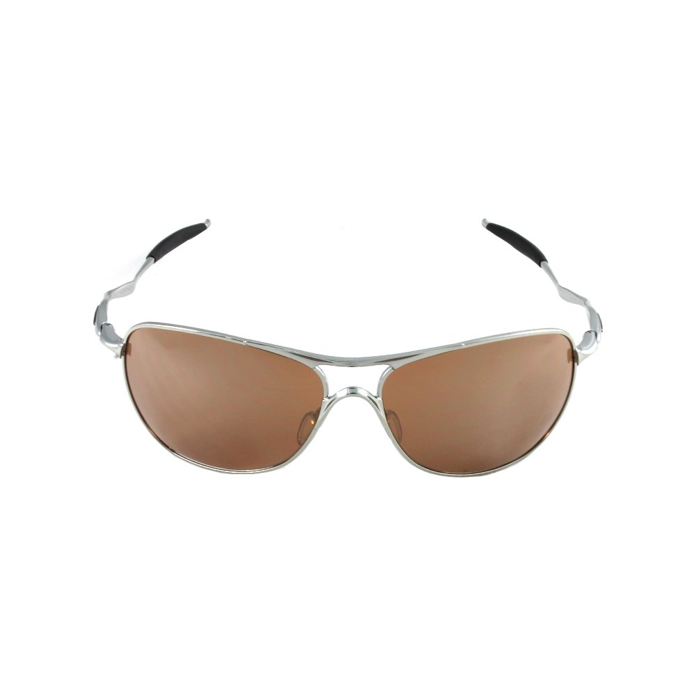 a5a0027948 Oakley Polished Chrome VR28 Black Iridium Crosshair Sunglasses   Amazon.co.uk  Clothing