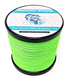 Reaction Tackle Fluoro Green 100LB 300yd For Sale