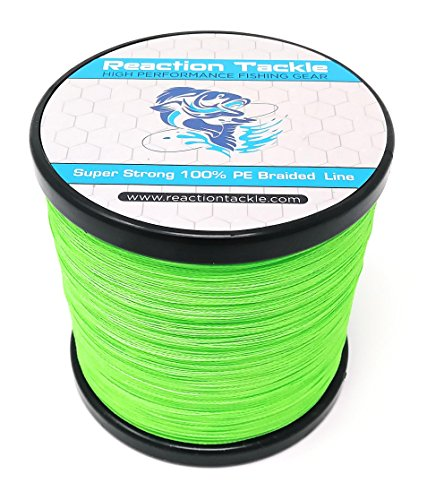 - Reaction Tackle Hi Vis Green 10LB 500yd