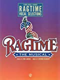 Front cover for the book Ragtime, Vocal Selections by Stephen Flaherty