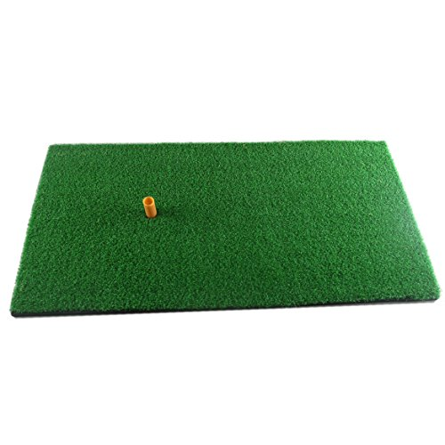 Truedays Golf Mat 12'x24' Residential Practice Hitting Mat Rubber Tee Holder
