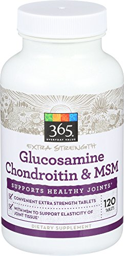 365 Everyday Value, Glucosamine Chondroitin w/ MSM X-Strength, 120 ct