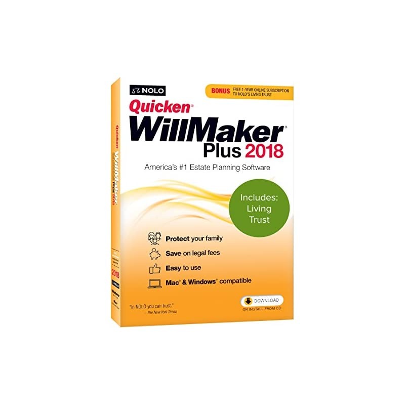 nolo-quicken-willmaker-plus-2018