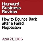 How to Bounce Back after a Failed Negotiation | Carolyn O'Hara