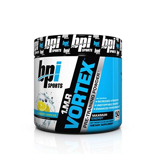 BPI Sports 1.M.R Vortex Pre-Workout Powder, Blueberry Lemon Ice, 5.3 Ounce by BPI Sports