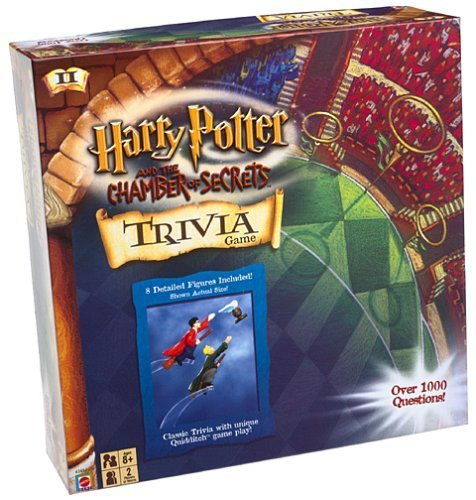 Harry Potter Chamber of Secrets Trivia Game by Mattel (Harry Potter And The Chamber Of Secrets Trivia)