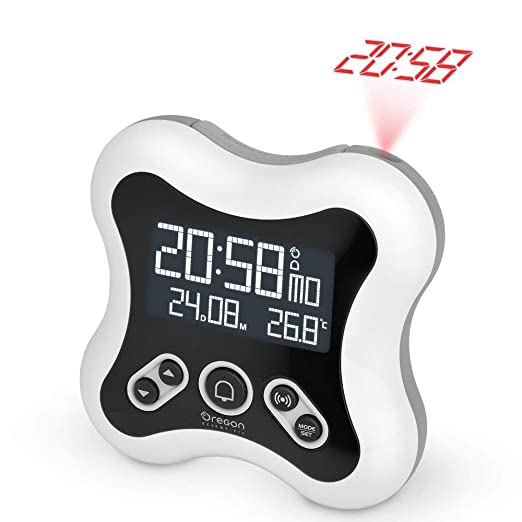 Oregon Scientific RM331_W - Reloj despertador proyector de hora y ...