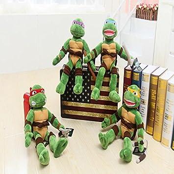 Amazon.com: 40 cm Anime TMNT juguetes Teenage Mutant Ninja ...