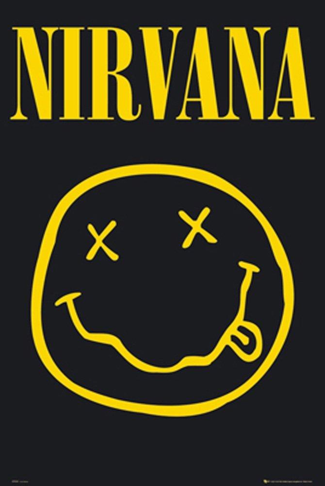 GB Eye Nirvana Smiley Poster