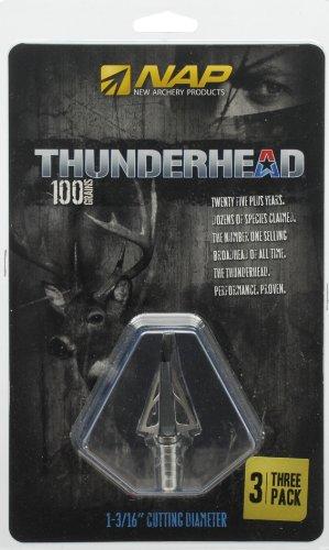 Shockwave New Archery Thunderhead Broadhead, 100-Grain
