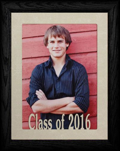 PersonalizedbyJoyceBoyce.com 5x7 Jumbo Class of 2016 Portrait Senior/Graduate School Picture/Photo Keepsake Frame ~ Black - Gifts Graduation 2010