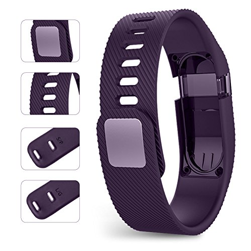 I-SMILE Fitbit Charge Bands, Original Version Adjustable Replacement Wristband for Fitbit Charge/Wireless Activity Bracelet Strap Sport Wristband
