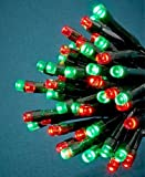 jack 3d grape - 50 Red And Green Led Solar String Lights