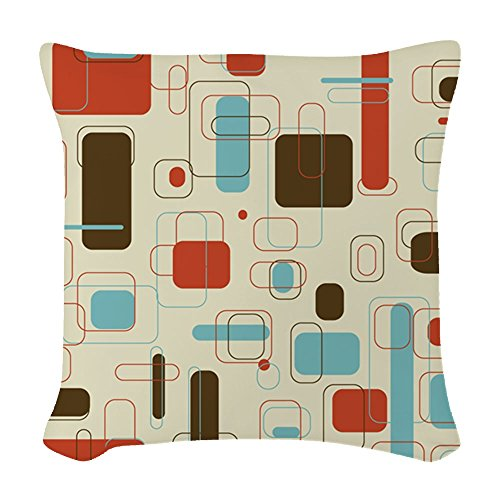 CafePress – Mid Century Modern Art – Woven Throw Pillow, Decorative Accent Pillow 510yjcHLoZL