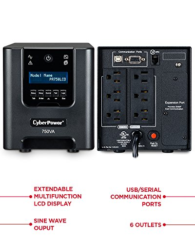 Build My PC, PC Builder, CyberPower PR750LCD